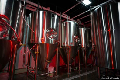 opening of level crossing brewery Saturday March 30, 2019.