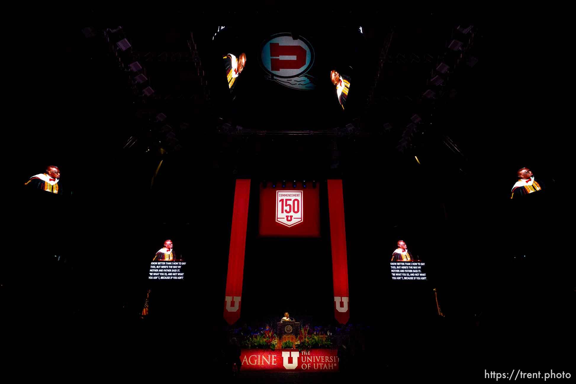 France Davis  University of Utah Commencement