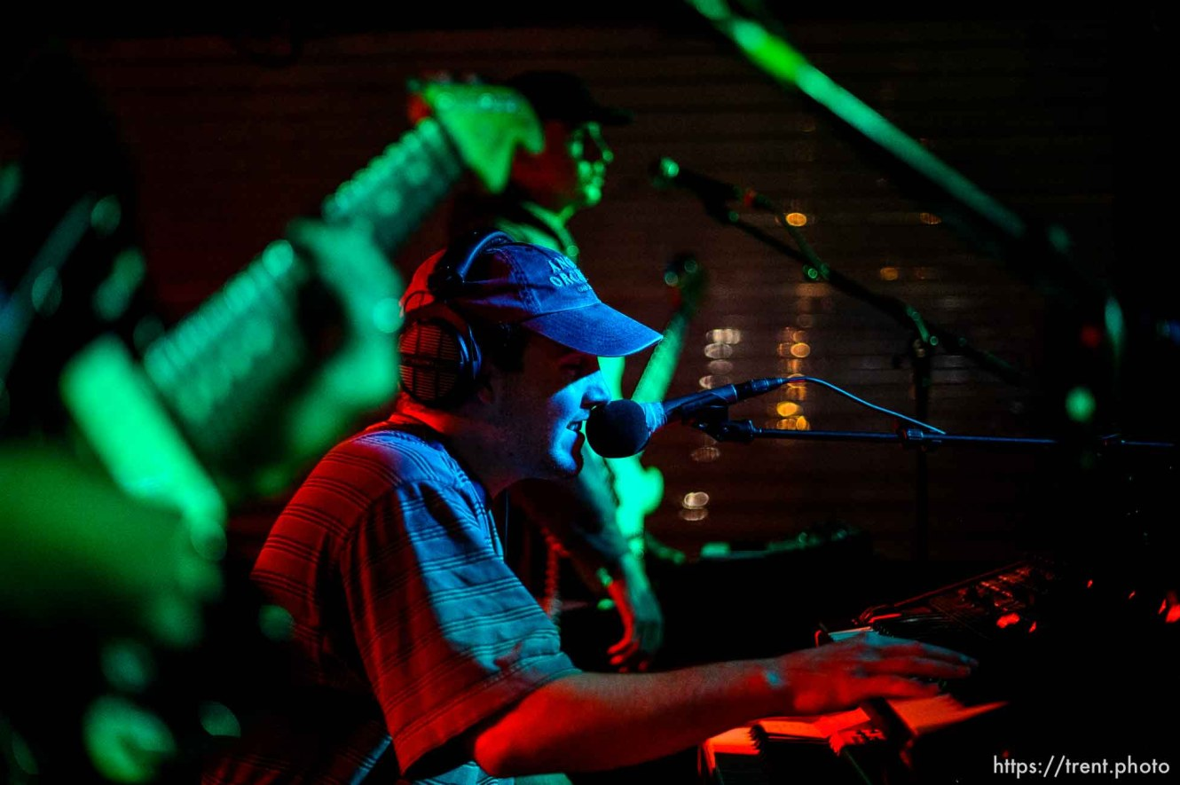 (Trent Nelson | The Salt Lake Tribune) Jack Rutter performs with his solo project Ritt Momney at Kilby Court in Salt Lake City on Monday June 24, 2019.