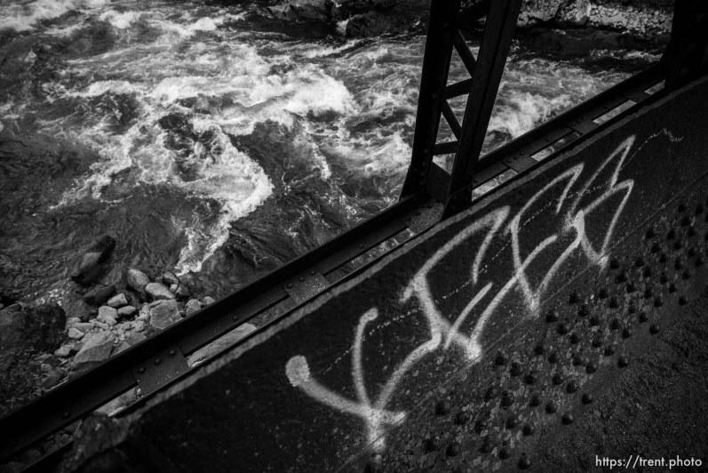 river and bridge, Saturday June 29, 2019.