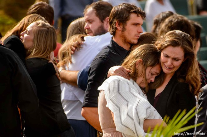 Funeral for Dawna Langford and two of her children, Trevor and Rogan