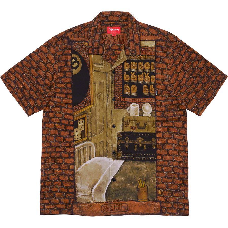 Supreme/Martin Wong Secret World Rayon S/S Shirt