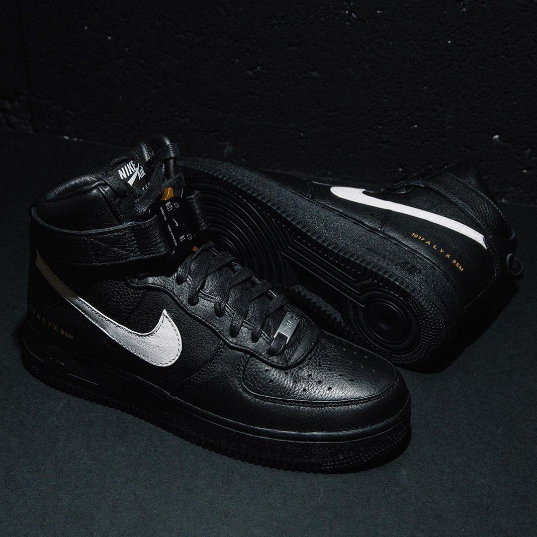 1017 Alyx 9SM x Nike Air Force 1 High Black/White