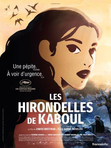 Affiche les Hirondelles de Kaboul césar 2019 / 2020