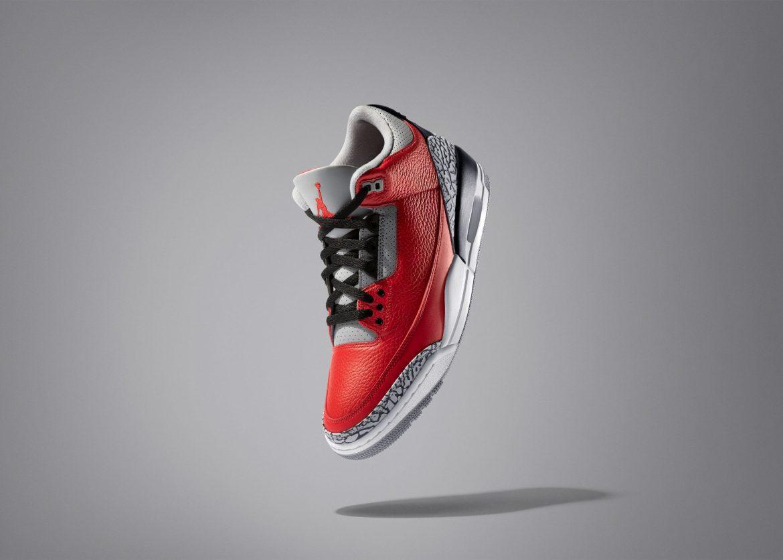 "Air Jordan 3 ""Fire Red"""