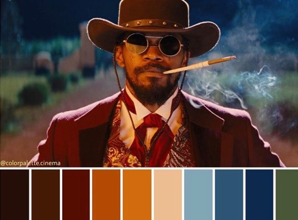Color Palette Cinema Django