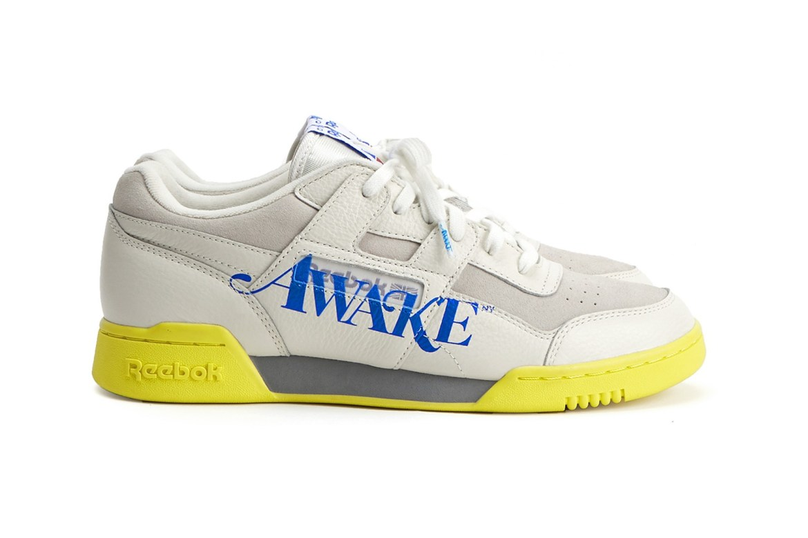 Awake NY x Reebok Classics Workout Lo Plus White