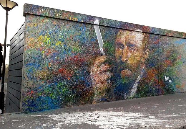 Van Gogh représenté dans le 19ème arrondissement de Paris