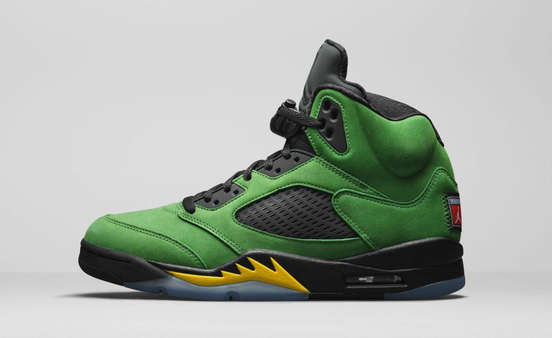 Air Jordan 5 Retro Oregon Ducks 2020