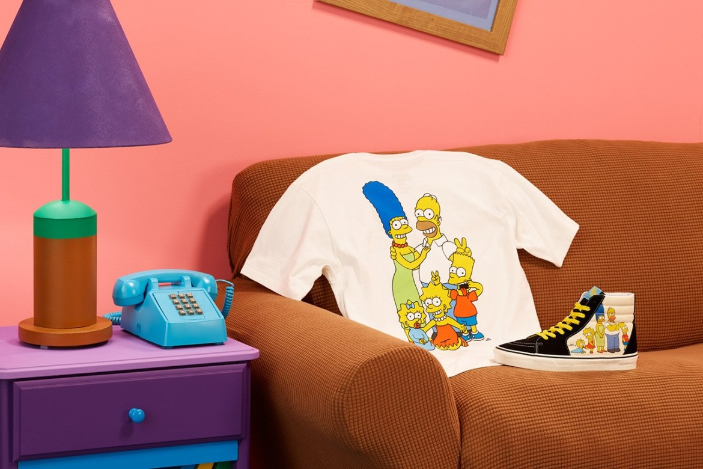 Vans x The Simpson