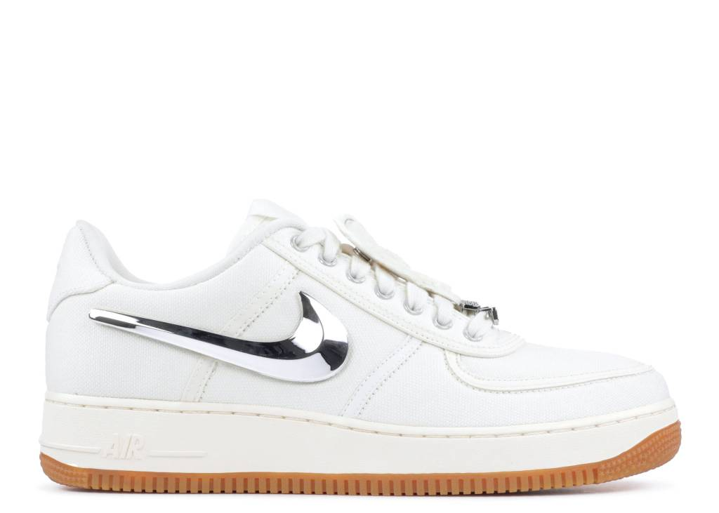 Travis Scott x Nike Air Force 1 Low Sail