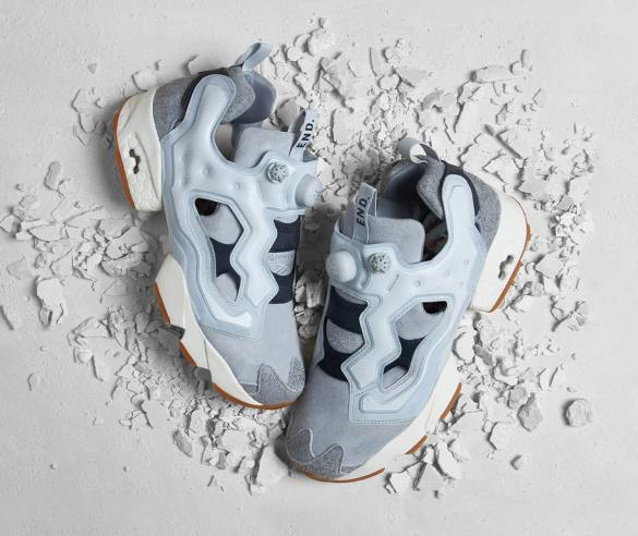 END x Reebok InstaPump Fury Fossil Pack Pure Grey