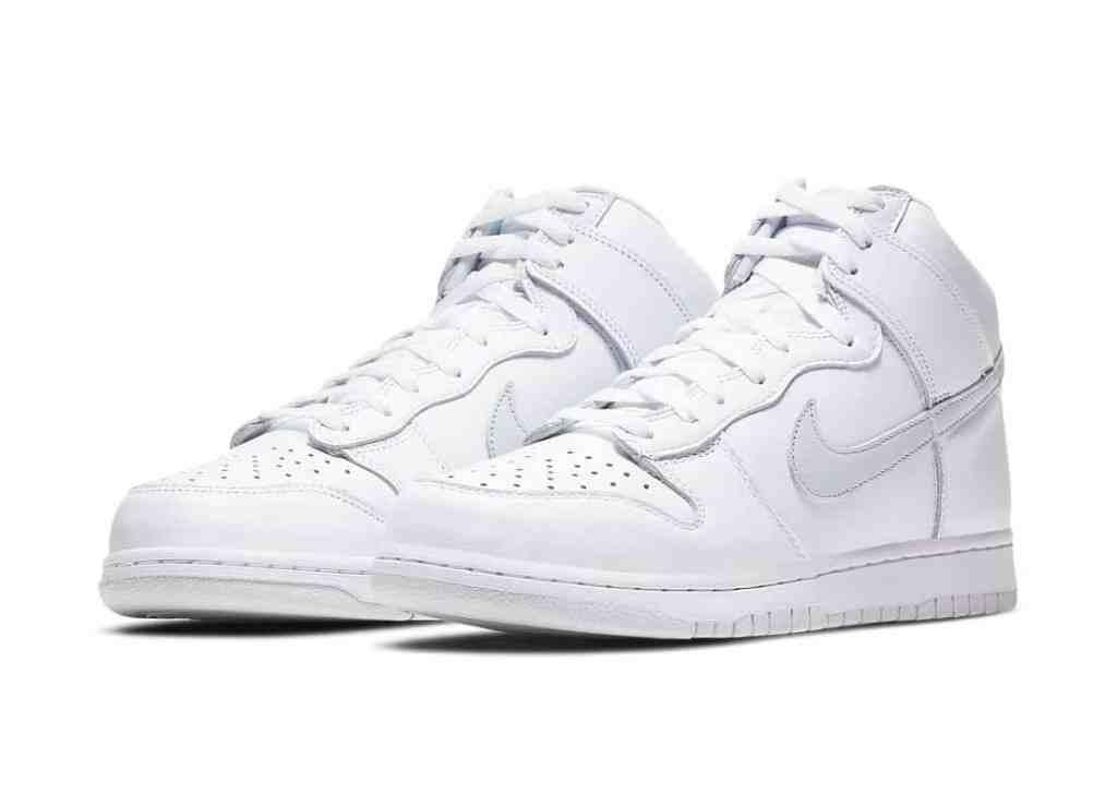 Nike Dunk High Pure Platinium