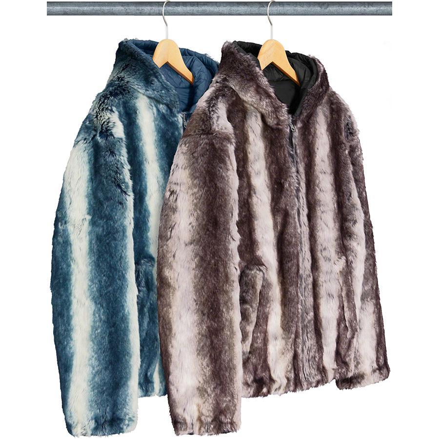 Supreme Faux Fur Reversible Jacket