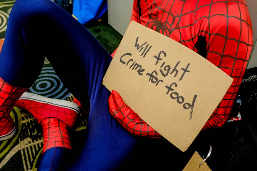 Homeless Spiderman Kyle Anderson will fight crime for food at Salt Lake Comic Con
