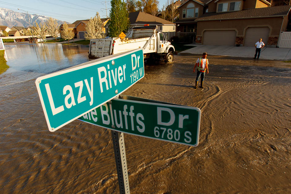 flood on Lazy River Drive