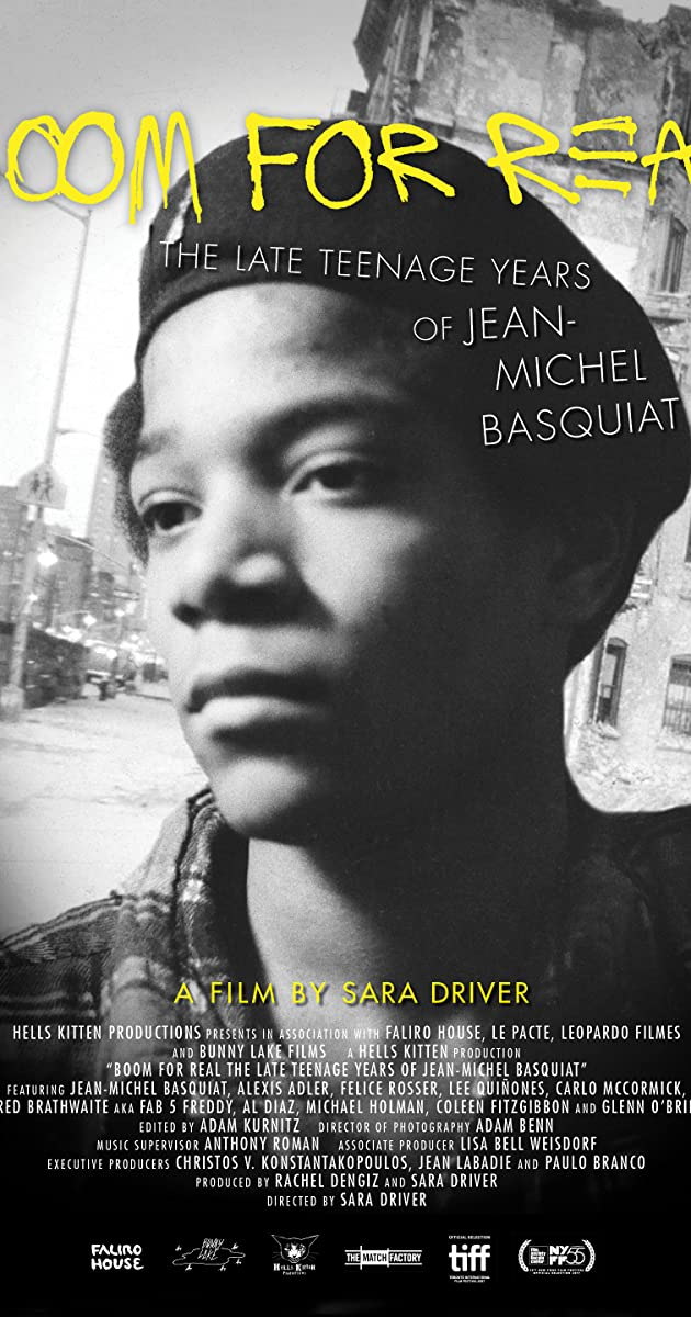 Boom for Real: The Late Teenage Years of Jean-Michel Basquiat (2017) - IMDb