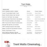 Trent Watts Cinematography