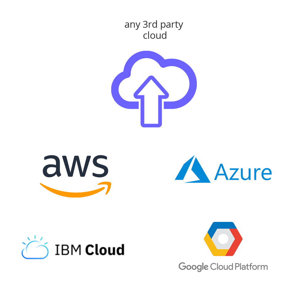 Cloud platforms that Treon can support