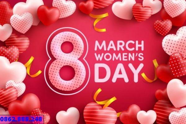 thiết kế in ấn backdrop quốc tế phụ nữ