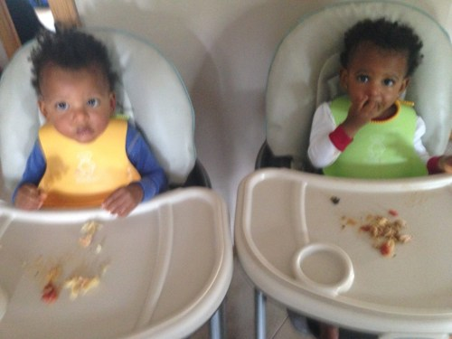 Thad and Zoe not really feeling the dish. It's hard to not take it personally. Ha!
