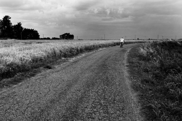 Narratori delle pianure Gianni Celati foto Andrea Siviero