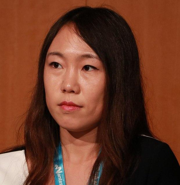 Hao Jingfang, foto del 2017
