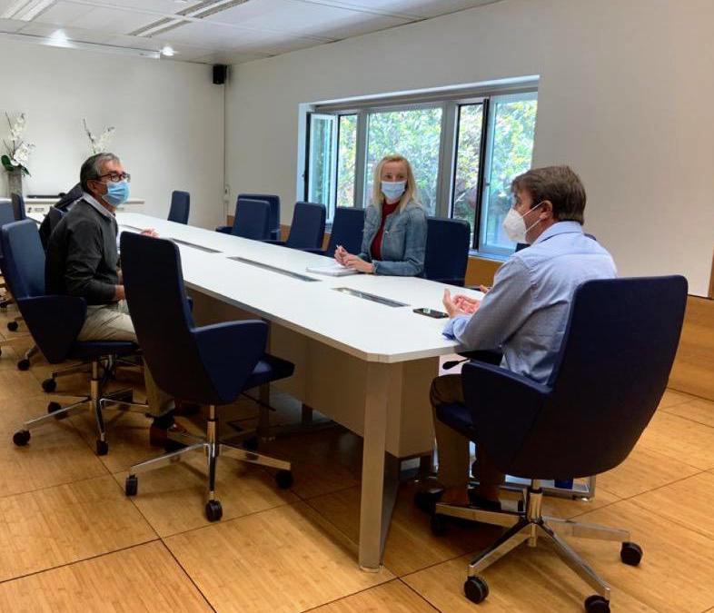 Reunión con el Ayuntamiento de Tres Cantos