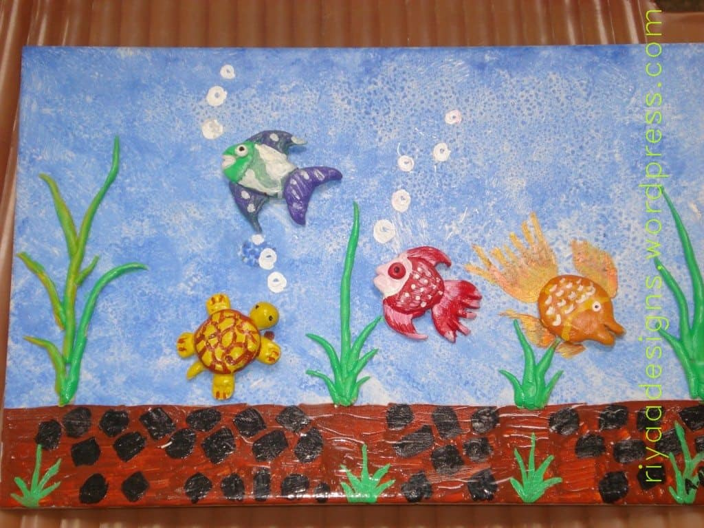tile painting and more pictures and