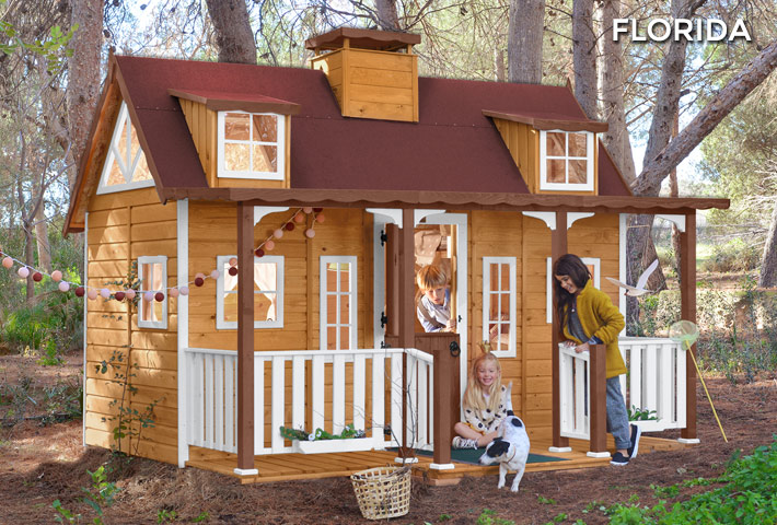 casita nic3b1os florida - Casitas de exterior para niños, que flipe!