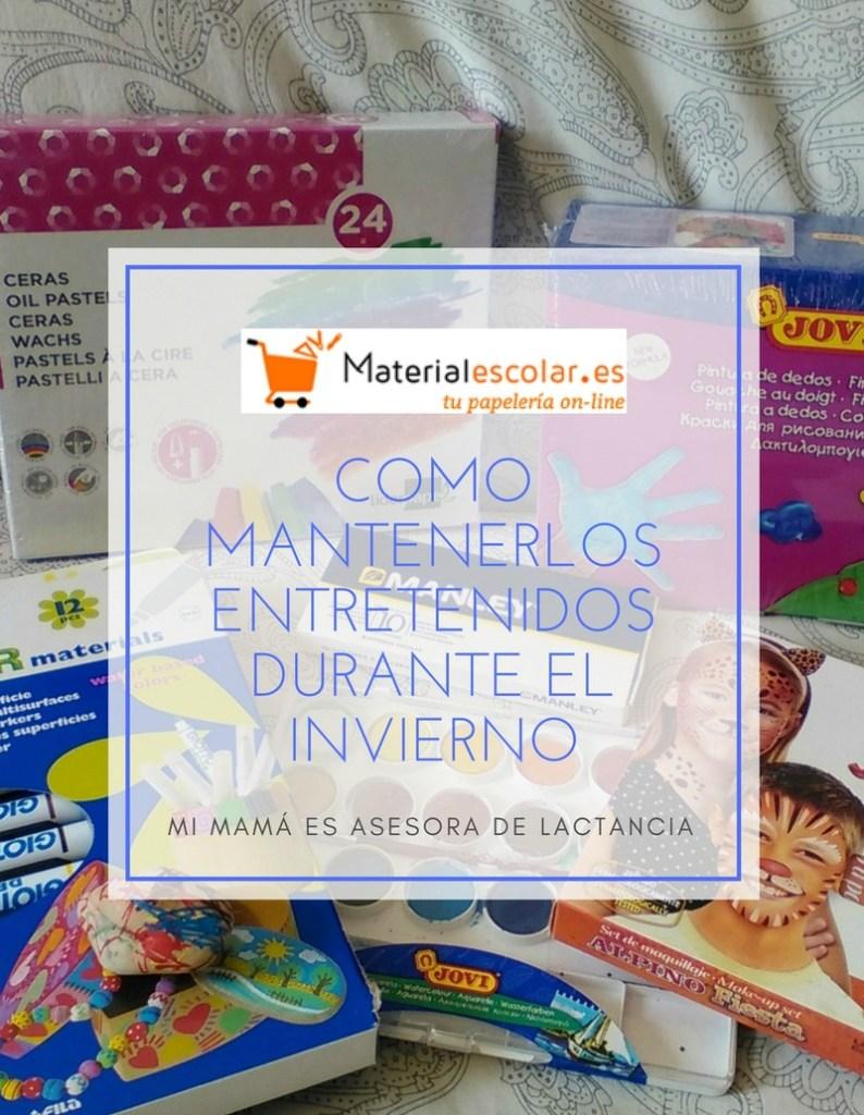 dessertbuffet 21 - Material escolar y como mantenerlos entretenidos durante el invierno