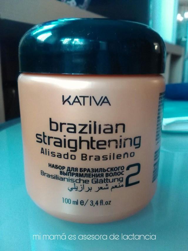Katina alisado brasileño