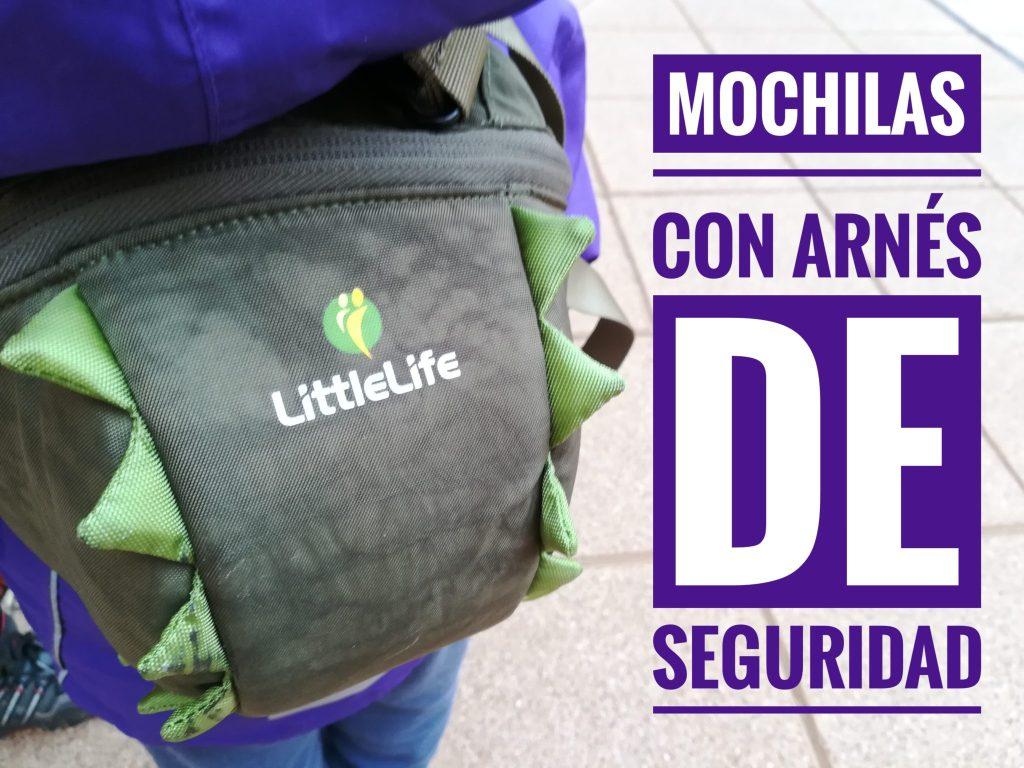 mochilas con arnés de seguridad