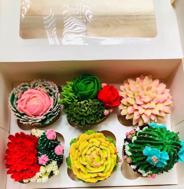 Cactus Gluten Free Cupcakes
