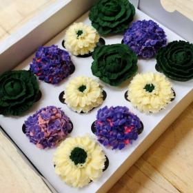 Mini Floral Organic Cupcakes in PA