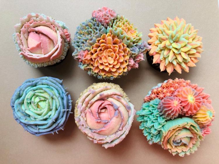 old city pennsylvania succulent cupcakes