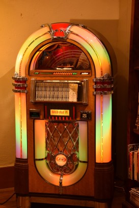 Jukebox at The Tinsmith's Wife