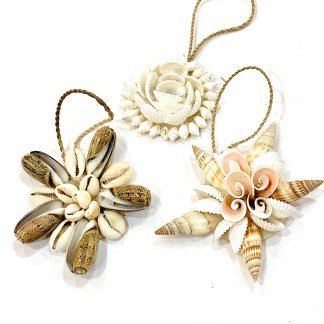 Christmas shell decorations
