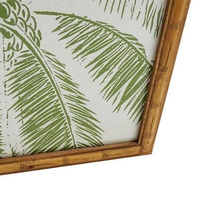 Palmtree in timber frame