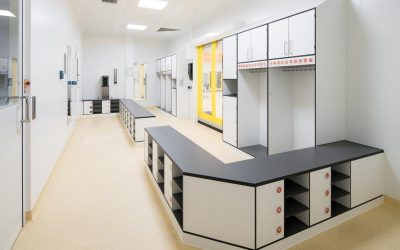 Clean room for a new business field of Saarpfalz-Werkstatt for people with disabilities