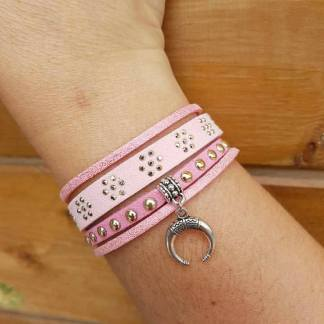 bracelet-rose-multirangs