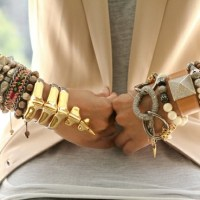 HOTTEST LOOKS OF THE SEASON ~ LAYERED BRACELETS!