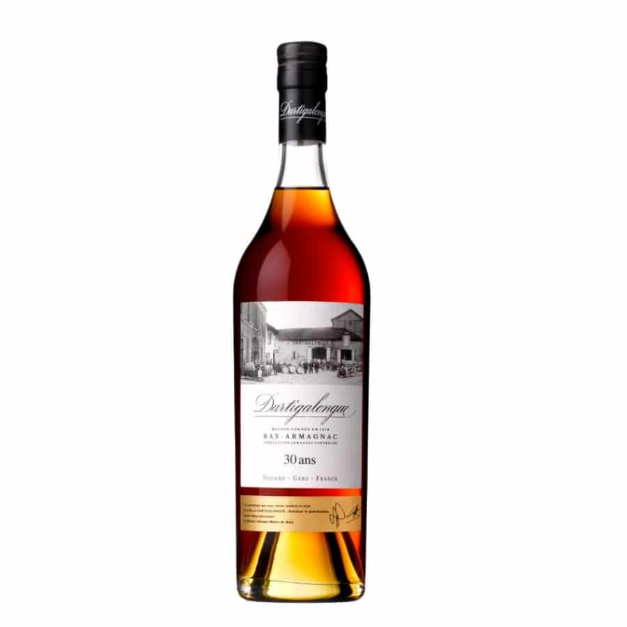 Visuel bouteille bas-armagnac Dartigalongue 30 ans