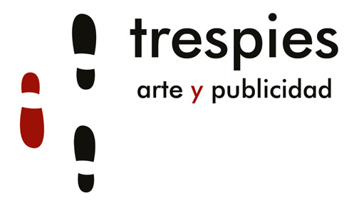 Logotipo trespies arte y publicidad página de Inicio