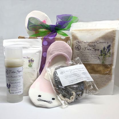 Tres Spa Polka Dot Pedicure Gift Sanctuary