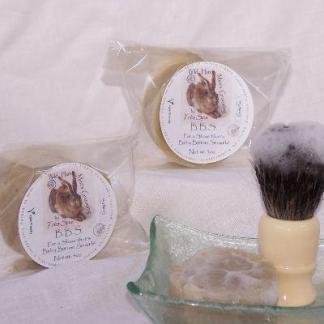Très Spa B.B.S. Organic Shaving Soap   Vegan
