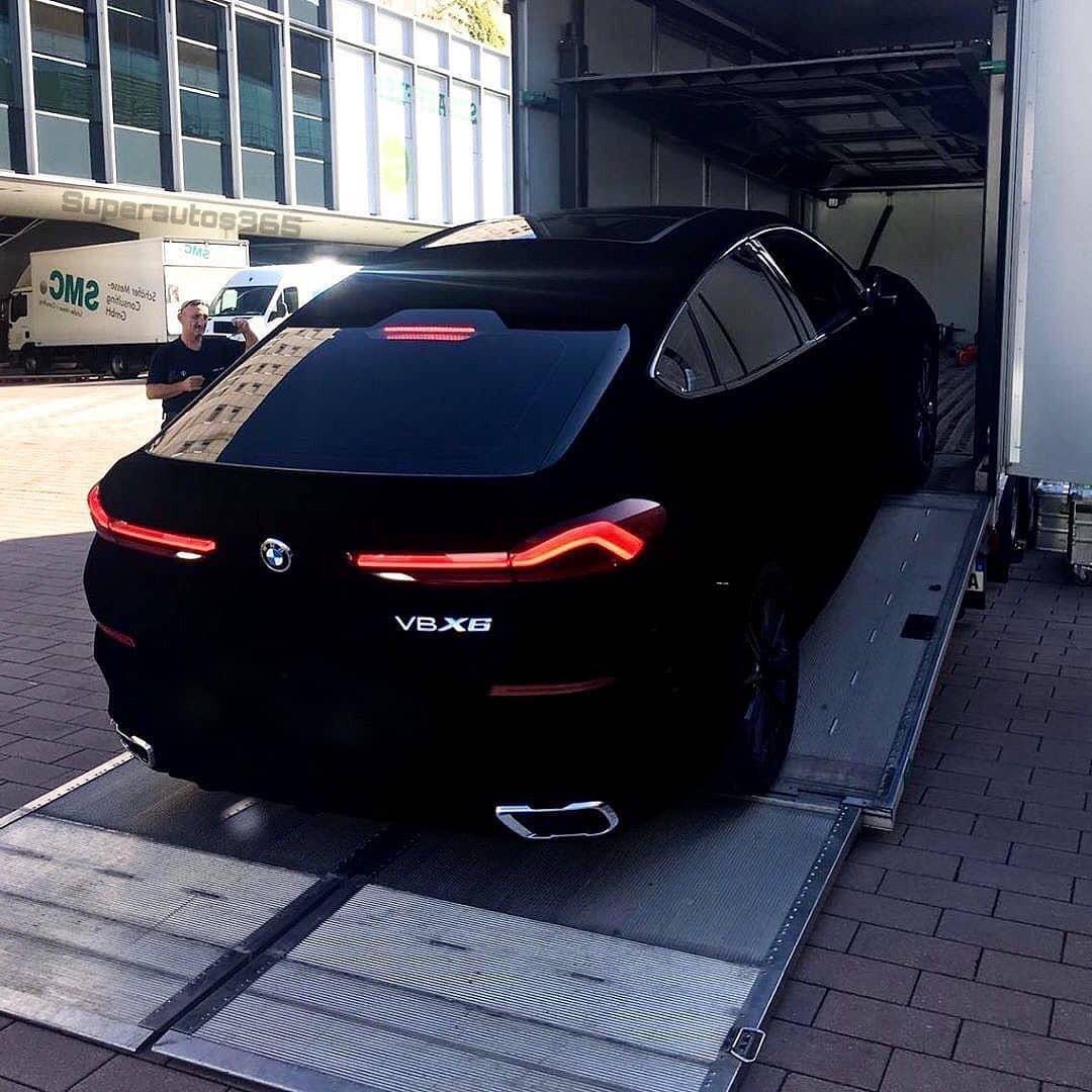 Bmw X6 Suv: BMW X6 Vantablack, Un SUV Que No Saldrá A La Venta Por