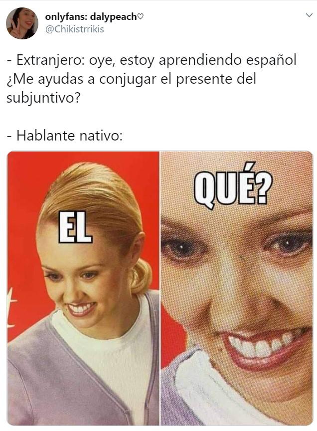 Español nativo