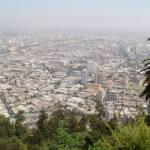 Santiago z góry, a dokładnie ze wzgórza (San Cristobal)
