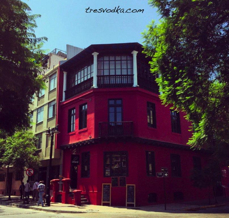 atrakcje Santiago - Lastarria